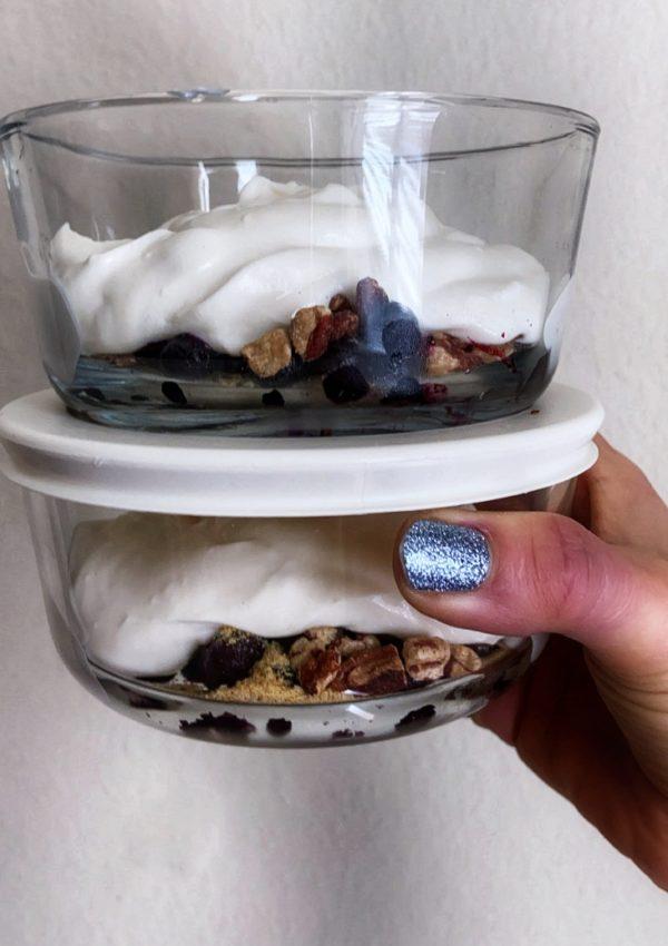New Recipe: Power Yogurt Brekkfast