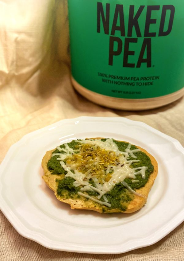 New Recipe: Personal protein Pea-zza