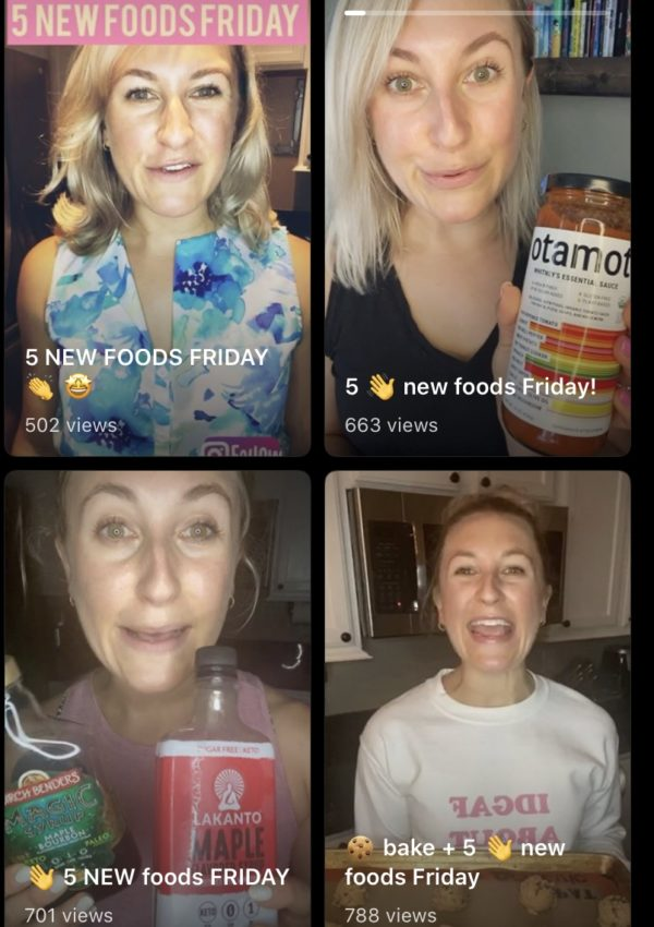 Five New Foods Friday's IGTV Round-Up