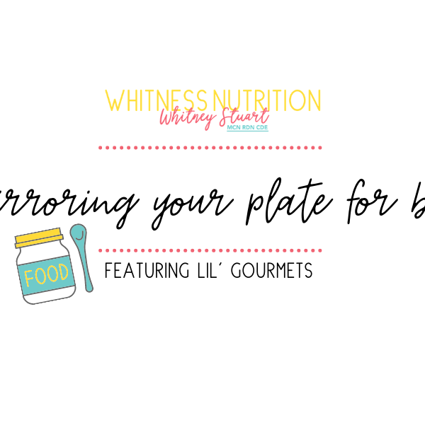 Mirror your plate with Lil' Gourmets