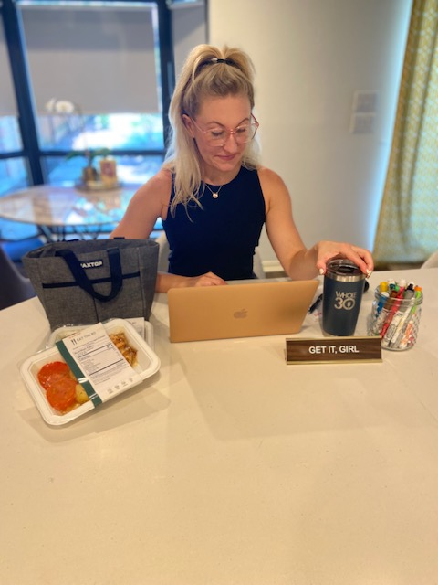 Whole30 Work Day essentials with Eat the 80